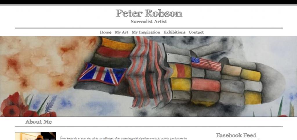 Peter Robson Website