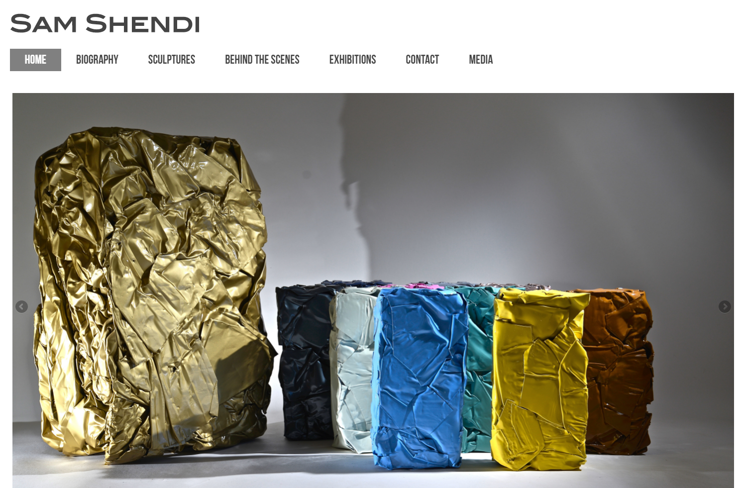 Sam Shendi Website